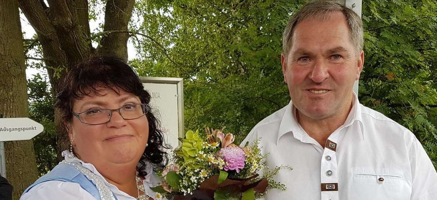 Bauer sucht Frau Paar Albert und Sabine